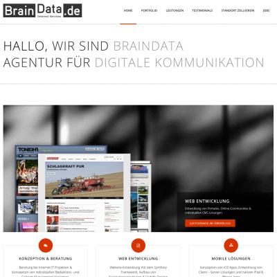 Im neuen Look. BrainData.de