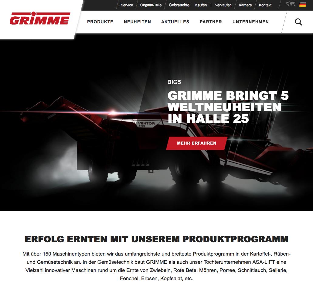 GoLive – Grimme.com